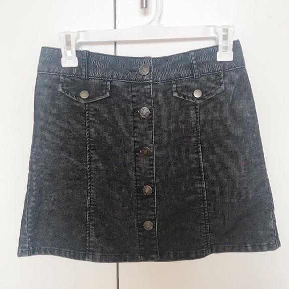147f964cdc BDG Skirts | Button Down Mini Skirt | Poshmark